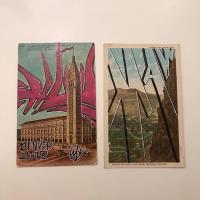 Altered postcards