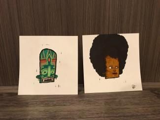 Tlaloc and Angela Davis
